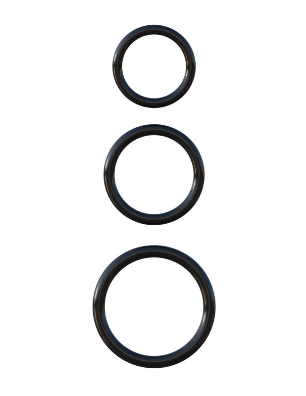 晴趣屋|Pipedream 3-Ring Stamina 三環陰莖套