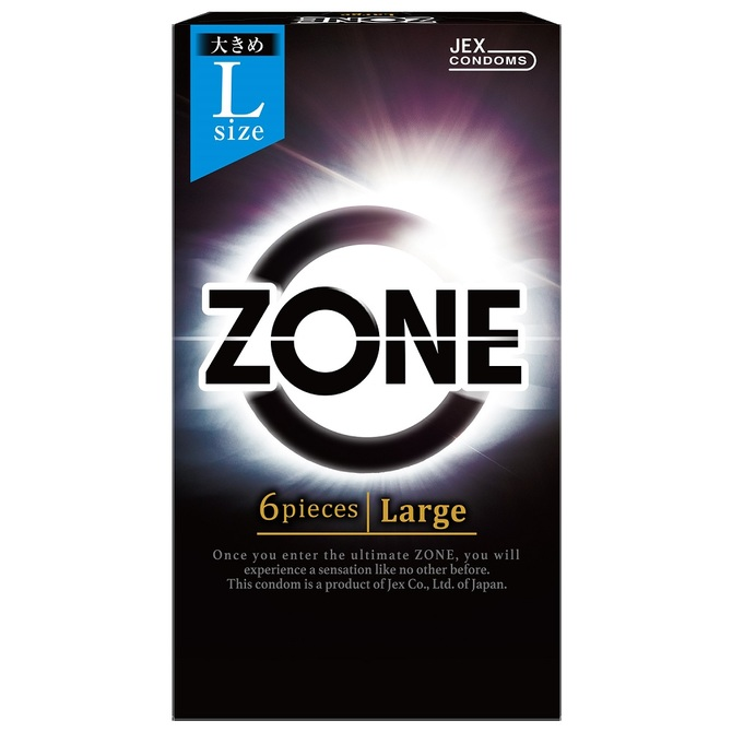 Jex Zone Condom Large 6pcs
