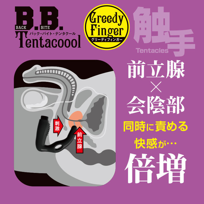晴趣屋|B. B. Tentacool Greedy Finger 會陰前列腺震動器