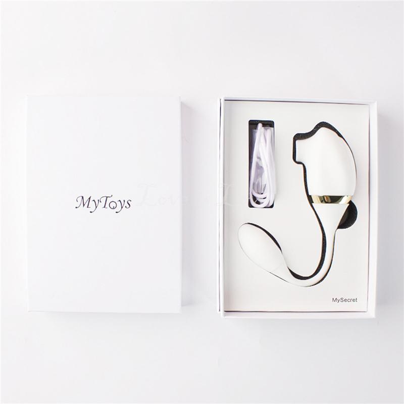 晴趣屋 | 德國 Mytoys MySecret 7頻陰蒂吮吸震動潮吹震蛋
