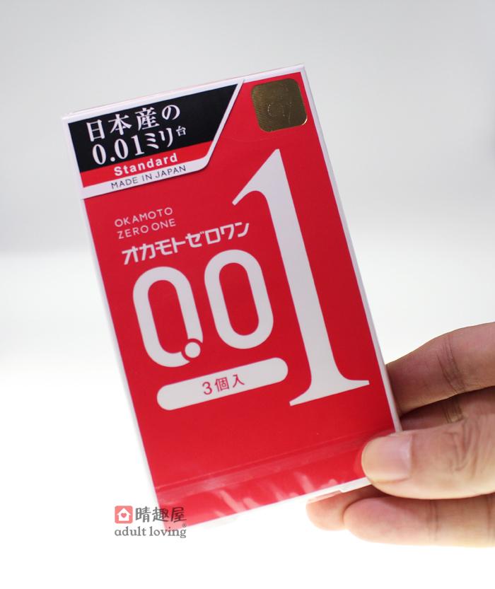 晴趣屋 | 日本版 岡本 0.01 超薄安全套 | 日本直送
