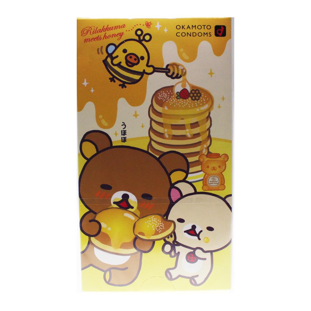 晴趣屋 日本版 岡本 鬆弛熊 10 片裝 安全套
