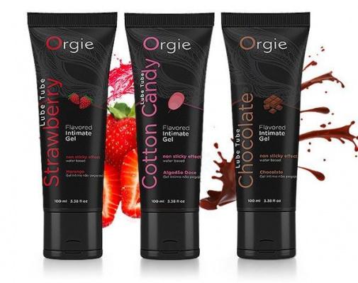 adultloving - Orgie Lube Tube Chocolate Lubricant