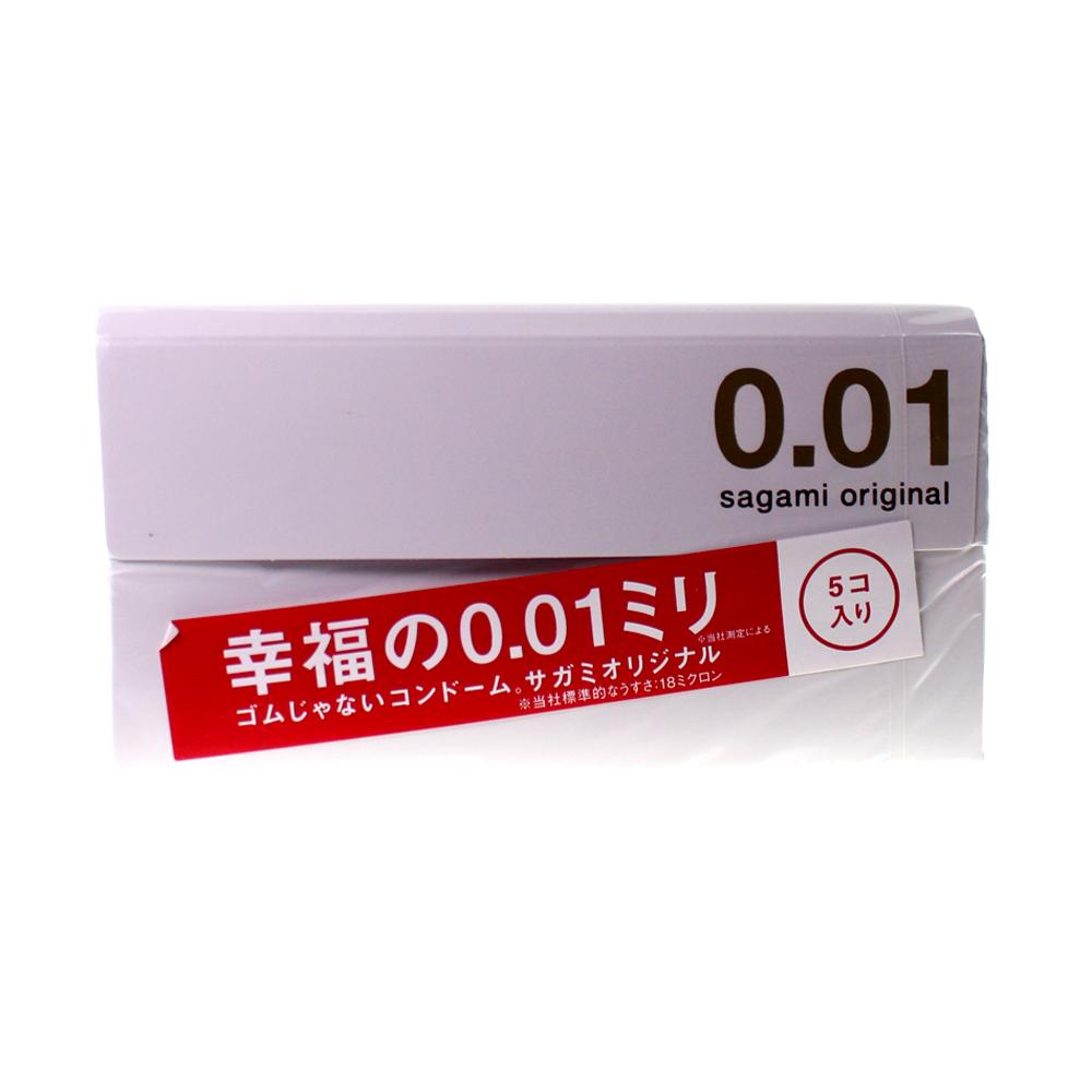 Adultloving.hk|Sagami Original 0.01 Condom 5pcs
