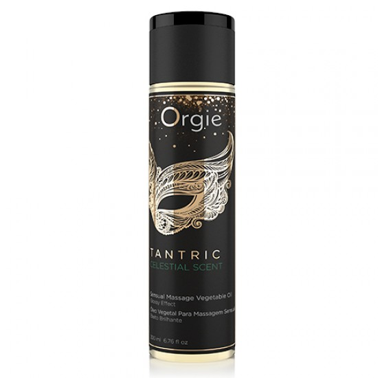 Orgie TANTRIC CELESTIAL SCENT MASSAGE OIL