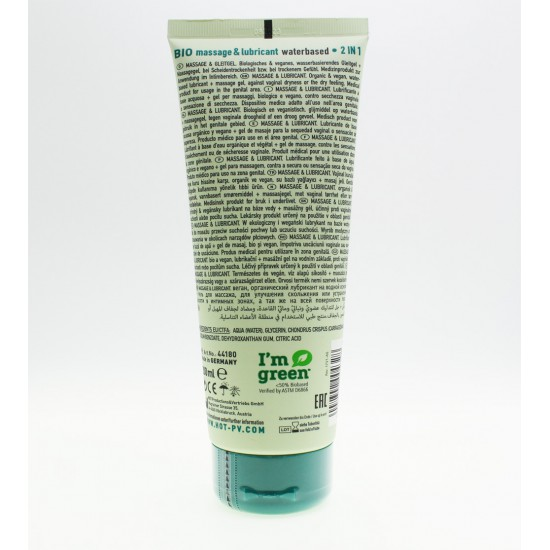 HOT Bio Massage Waterbased Lubricant