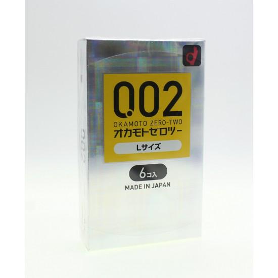 Okamoto 0.02 EX L size 6PCs