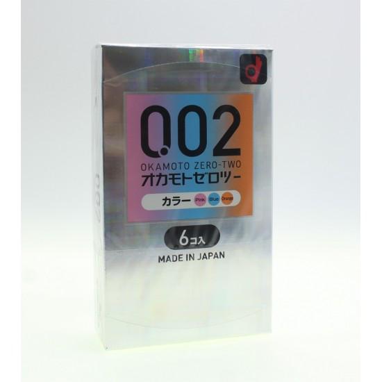 Okamoto 0.02 EX 3 Colors 6PCs
