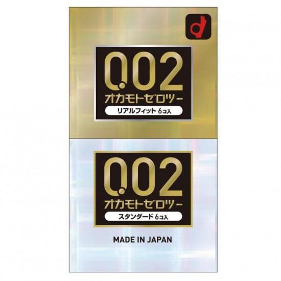 日本版岡本0.02貼身加薄12個裝