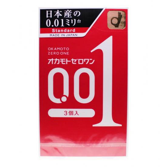日本版 岡本 0.01 超薄安全套