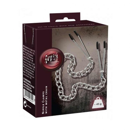 SEXTREME Bosomchain Metal Nipple Chain