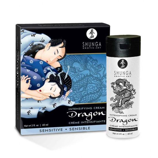 Shunga Dragon Sensitive Intensifying Cream 60ml