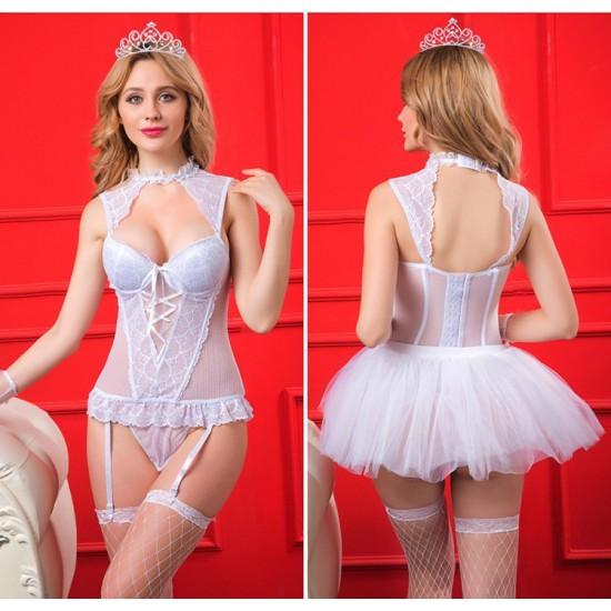 時尚性感誘惑公主裝兩種穿法6132