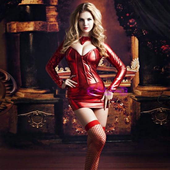 cosplay歐美性感賽車模特服