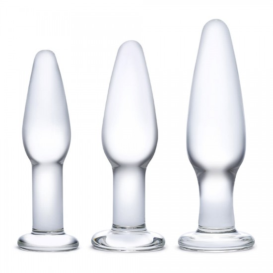 Glas 3pcs Glass Anal Training Set
