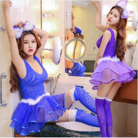 可愛連體網衣蓬蓬裙