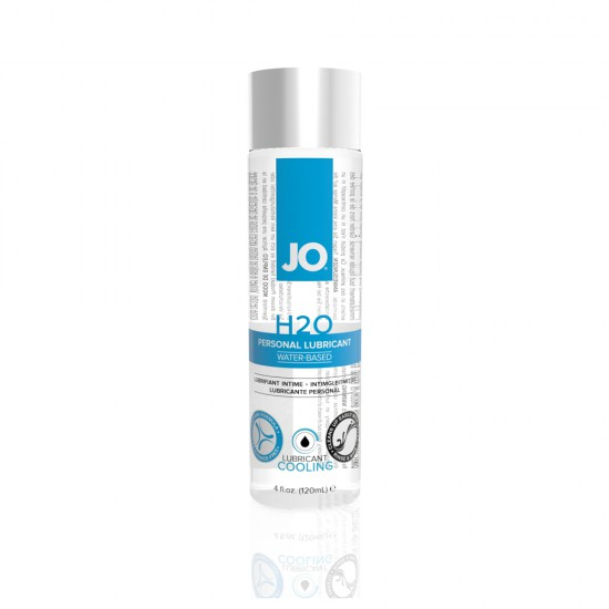 System Jo H2O Water Based Lubricant - Cooling 120ml