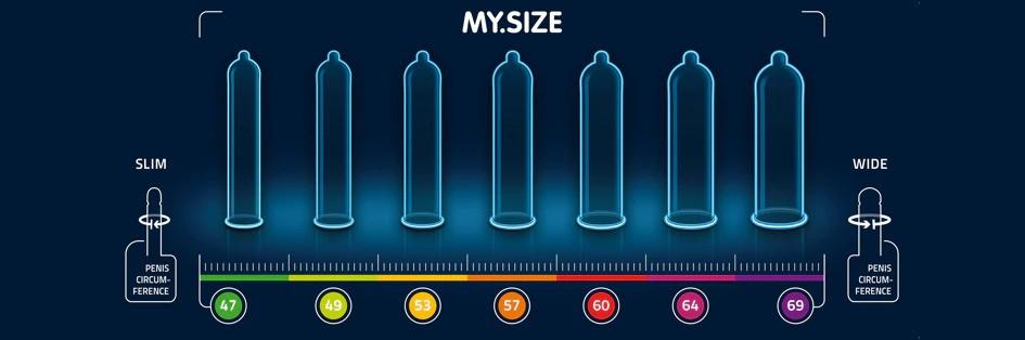 晴趣屋|My Size 自由選擇7種呎碼 - 安全套 10個裝