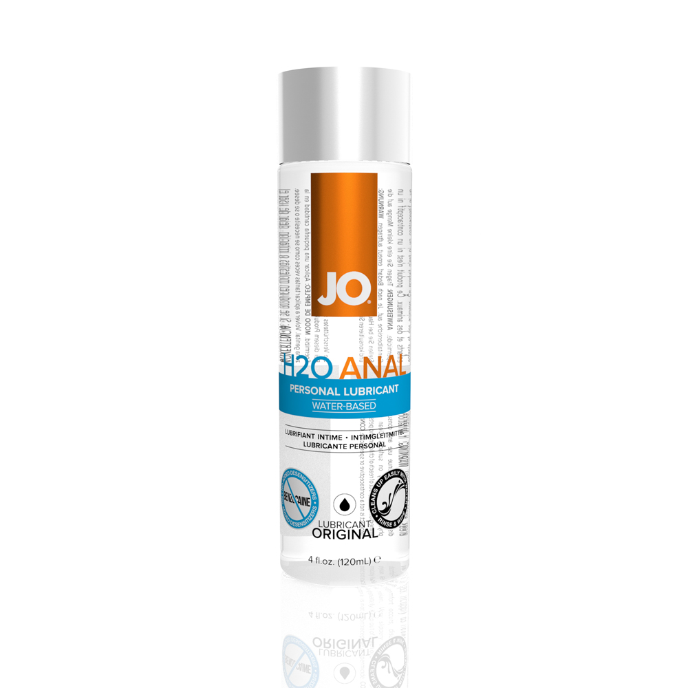 System Jo H2O Anal Water Based Lubricant 120ml